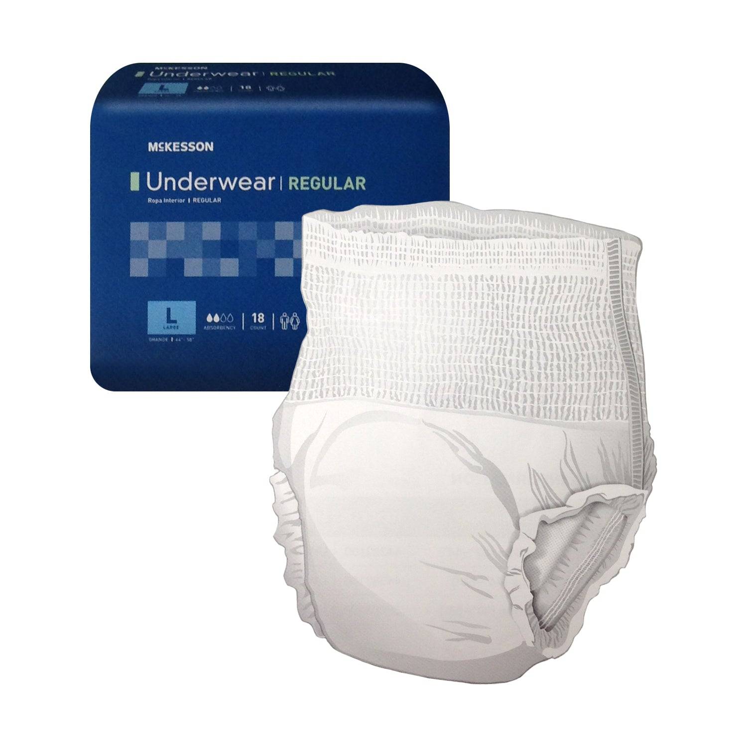 Disposables-McKesson Underwear