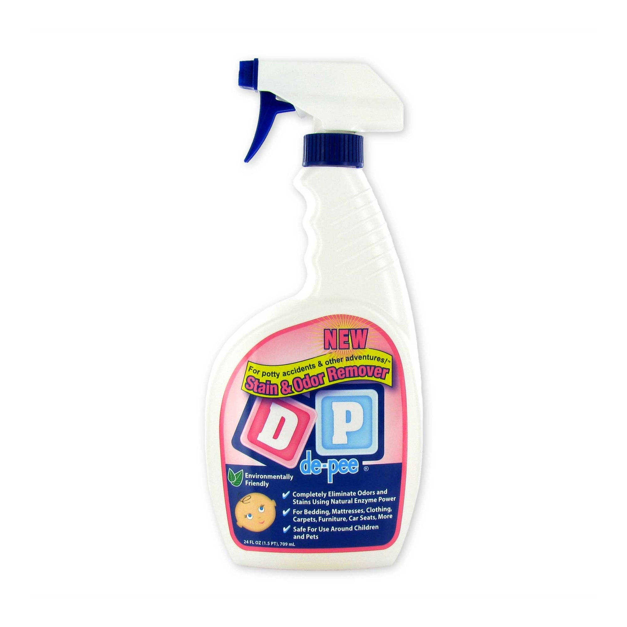 Stain Removers-DP (de-pee) Stain & Odor Remover - 24 Ounce Spray Bottle