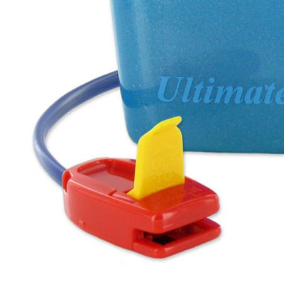 Reconditioned Malem ULTIMATE Bedwetting Alarm with Sound and Vibration - Single Tone BLUE