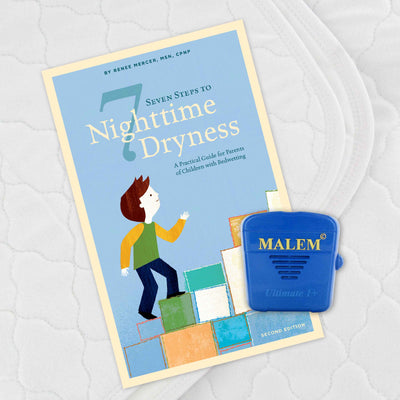 Malem ULTIMATE Recordable Bedwetting Alarm Treatment Kit
