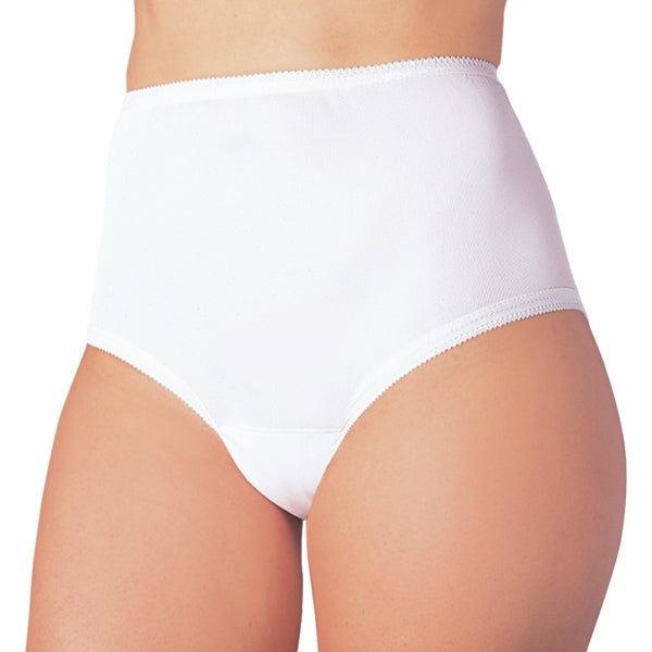 Reusable Female Cotton Comfort Incontinence Panty (White or Beige)