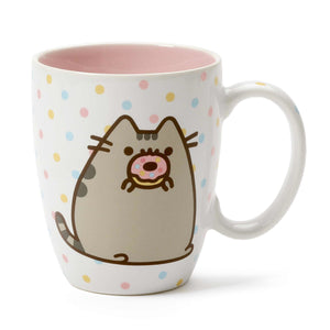 PUSHEEN Mug with Donut