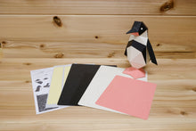 Load image into Gallery viewer, KAKUKAKU 3D Origami Paper Craft Figurine - PENGUIN
