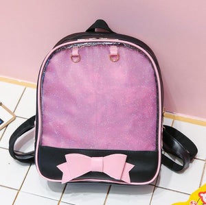 Ita-bag backpack with front bow
