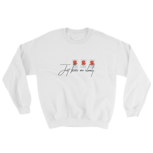 Kiss Me Slowly Postcard Sweatshirt