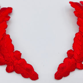 Trimplace Red Scrambled Eggs Appliques - IRON ON