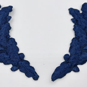 Trimplace Navy Scrambled Eggs Applique