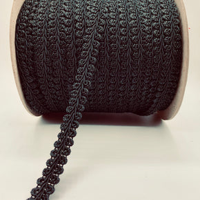 "Trimplace Black 5/8"" Chinese Braid"
