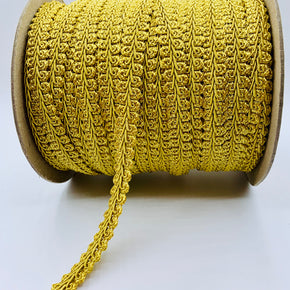 "Trimplace Antique Gold 5/8"" Chinese Braid"