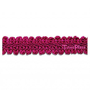 HOT PINK 5/8 INCH CHINESE BRAID