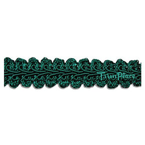 HUNTER GREEN 5/8 INCH CHINESE BRAID