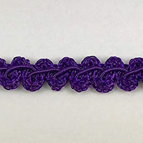 "Trimplace Purple 3/8"" Gimp Trim"