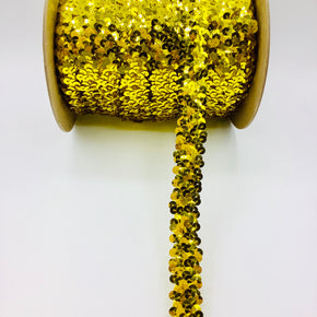 "Trimplace Chartreuse 7/8"" (2 Row) Stretch Sequin"