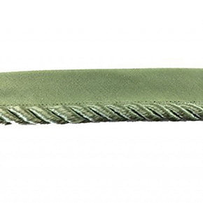 PALE OLIVE 7/8 INCH TWIST CORD WITH LIP