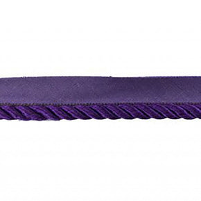 PURPLE 7/8 INCH TWIST CORD WITH LIP