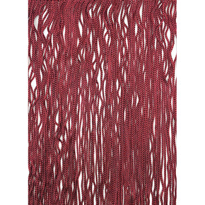 "Trimplace Cranberry 14"" Chainette Fringe - Sold by the Yard"