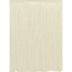 "Trimplace Off White 22"" Chainette Fringe -Sold by the Yard"