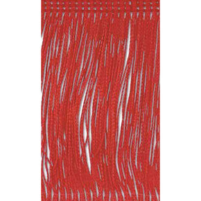 "RED 24"" RAYON CHAINETTE FRINGE"