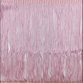 "Trimplace Lt. Pink 6"" RayonChainette Fringe"