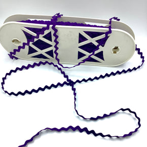 "Trimplace Purple 1/2"" Middy Ric Rac - 24 Yards"