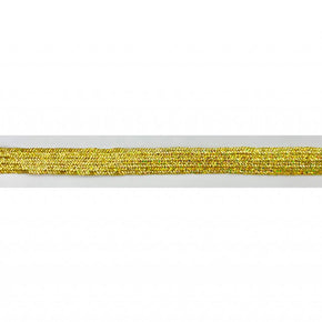 "Trimplace Gold Holographic 5/16"" Metallic Middy Braid"