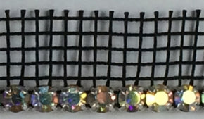 "3/4"" One Row Crystal with Apron Edge (Multiple Colors/Options)"
