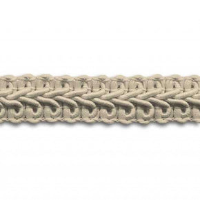 BEIGE 1/2 INCH POLY CHINESE BRAID