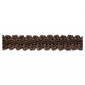 BROWN 1/2 INCH CHINESE BRAID