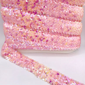 "Trimplace Ballet Slipper 2"" (5 Row) Stretch Sequin"