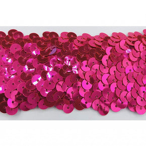 "FL Cerise 2"" Stretch Sequin"