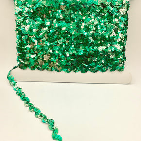 "Jewel Kelly 5/8"" Sequin Ric Rac"