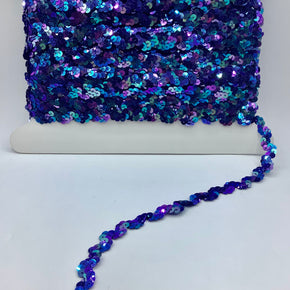 "Jewel Royal 5/8"" Sequin Ric Rac"