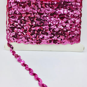"Trimplace Candy Pink 5/8"" Sequin Trim"
