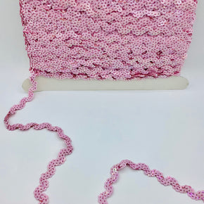 "Trimplace Light Pink 5/8"" Sequin Ric Rac"