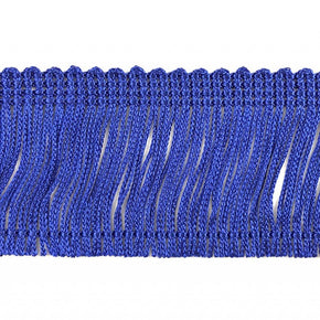 "Trimplace Royal Blue 2"" Rayon Chainette Fringe"