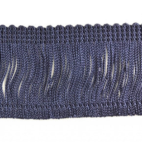 "Trimplace Navy 2"" Rayon Chainette Fringe"