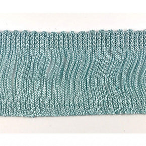 "Trimplace Sky Blue 2"" Rayon Chainette Fringe"