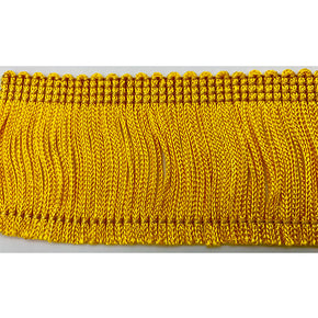 "Flag Gold 2"" Chainette Fringe"