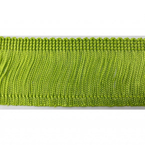 "Trimplace Lime 2"" Rayon Chainette Fringe"