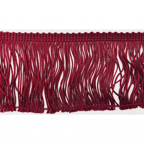 "Trimplace Wine 3"" Rayon Chainette Fringe"