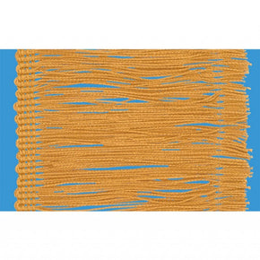 "Antique Gold 4"" Rayon Chainette Fringe"