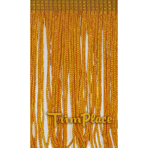 "FLAG GOLD 4"" RAYON CHAINETTE FRINGE"