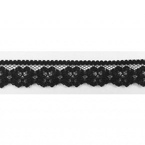 "Trimplace Black 5/8"" Flat Lace"