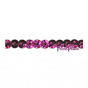 WINE 4MM 3/16 INCH MINI SEQUIN