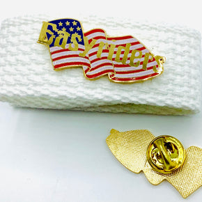 Easyriders American Flag Lapel Pin