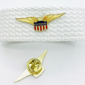 Easyriders with Flag & Eagle Lapel Pin