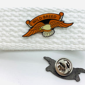 """Wild Breed"" with Eagle Lapel Pin"