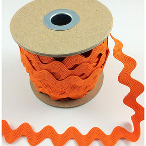 Trimplace ORANGE 5/8 INCH RIC RAC