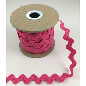 Trimplace BRIGHT PINK 5/8 INCH RIC RAC