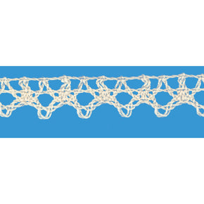 NATURAL 5/8 INCH CLUNY LACE EDGE